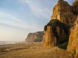 stranden vid valle furado, portugal foto