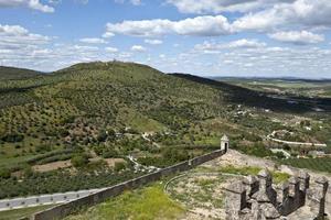 elvas - utsikt över forte da graca