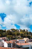 Sao Jorge Castle över Lissabon