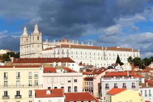klostret Sao Vicente de Fora i Lissabon