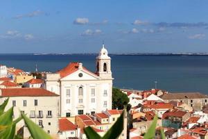 kyrkan igreja de santo estevao i Lissabon