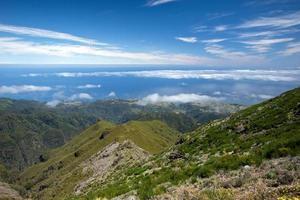 promenader på Pico Ruivo - Madeira Island