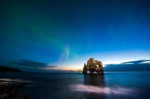 hvitserkur på norra Island
