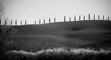 val d'orcia i Toscana, Italien