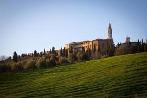 pienza i Val d'orcia, Toscana