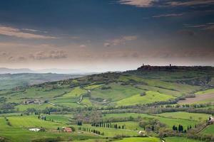 pienza i Toscana, Italien