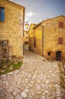 gammal och övergiven stad i Italien