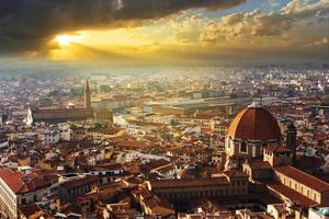 panorama över Florens