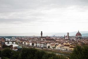 panoramautsikt över Florens