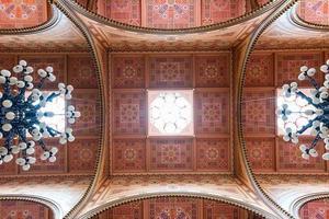 den stora synagogen i Budapest foto