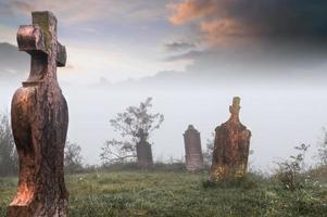 gammal kyrkogård ..