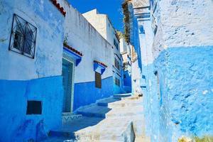 gata i Chefchaouen, Marocko