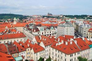 ovanifrån av Prag foto