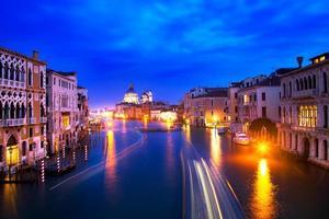 kvällen i Venedig foto