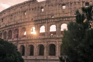 Rom, Italien: Colosseum, flaviska amfiteatern
