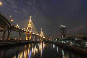 bridge twilight light