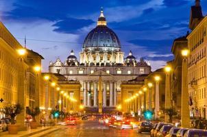 framifrån av saint peters basilika