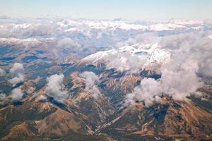 södra Alperna Nya Zeeland