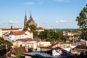 St, Peter och Paul Cathedral i Brno foto