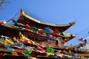 tibetanska templet foto