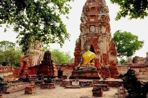 slottkomplexet Ayutthaya Thailand