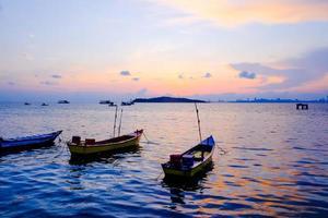 god morgon på ön foto