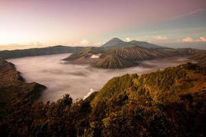bromo vulkan i Indonesien foto