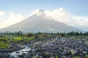 mayon vulkan foto