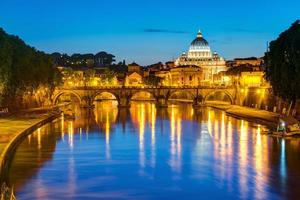nattvy av Rom foto