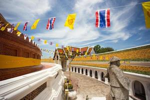 buddha tempel i thailand foto