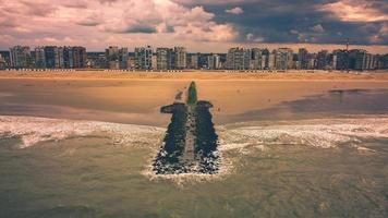drönare utsikt över Belgien foto
