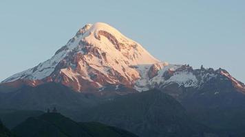 Mount Kazbek, Georgien, Europa foto