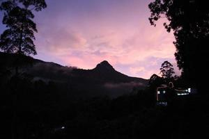 Adam's Peak, Sri Lanka foto