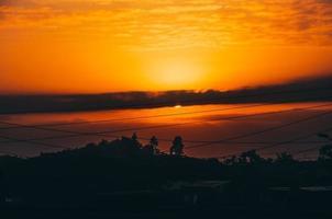 soluppgång i Nairobi