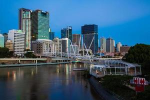 Australien. kuprila bridge, brisbane