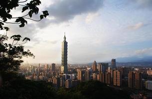 Taipei stad foto