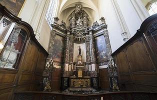 katedral saints-michel-et-gudule de bruxelles, belgien