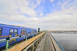 tunnelbana i Kiev, Ukraina foto