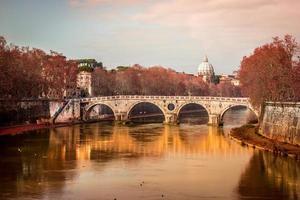 romanskt utsikt över Rom