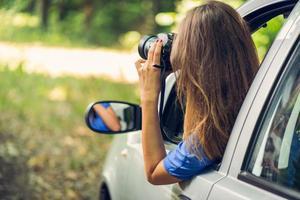 reser med bil foto