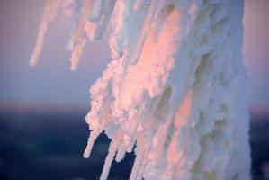 snöad tråd foto