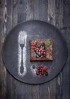 chokladkaka brownie foto