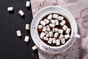 kopp varm choklad foto