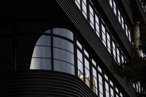 new york city, 2020 - svart modern byggnad