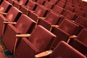 interiör av teatern foto