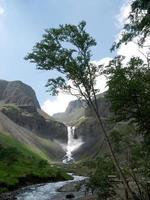 Changbai vattenfall foto