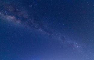 Vintergatan på natten