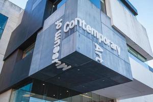 sydney, australien, 2020 - entré för samtida konstmuseum foto