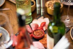 tapas på spansk restaurang
