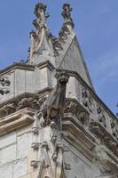saint hubert kapell vid kungliga slottet vid amboise foto